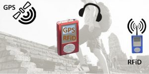 Audioguias GPS e RFID
