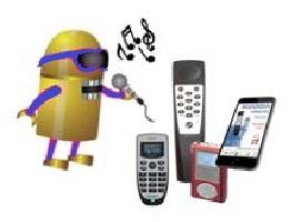 Áudio-guias com voz sintetizada